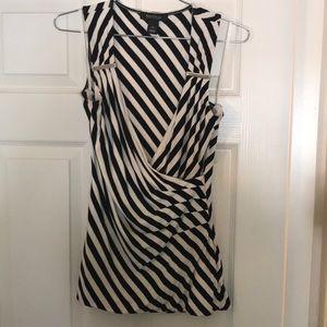 Black &White Striped Shirt